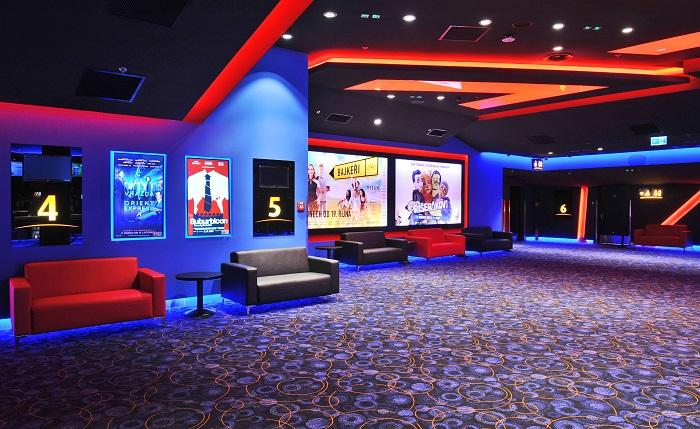 Lobby megaplexu, foto: Cinema City