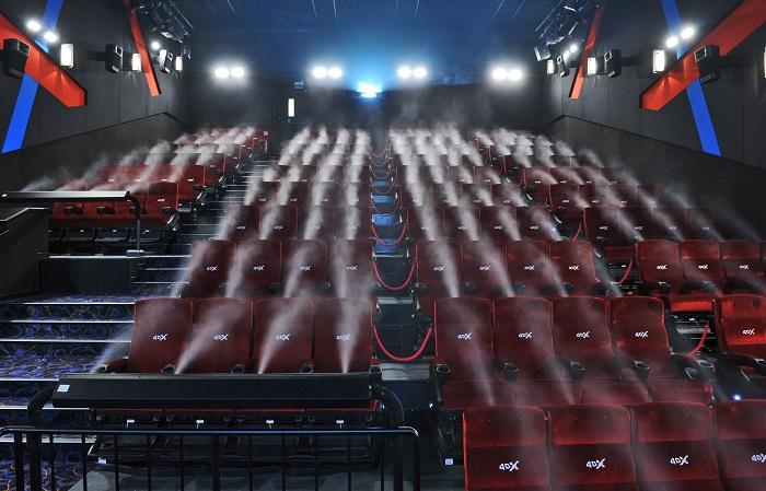 Sál 4DX, foto: Cinema City