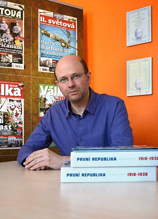 Pavel Pospíšil, foto: Extra Publishing